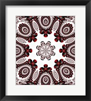 Mod Pod 2 Red Framed Print