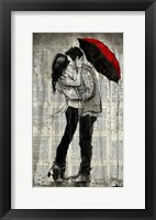 Framed Rainfall and Kisses