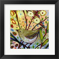 Modern Bird IV Framed Print