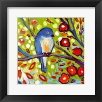 Modern Bird III Framed Print