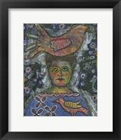 Framed Bird Head
