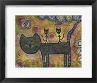 Framed Kitty Kat Ride