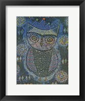 Framed Owl