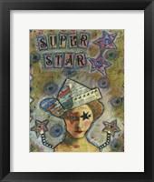 Framed Super Star