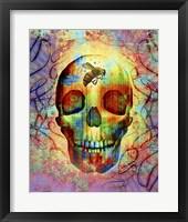 Framed Bee Skull