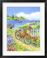 Framed Bike Path in Spring
