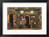 Framed La Galleria Del Corvo