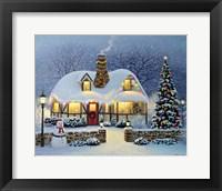 Framed Candlelight Christmas