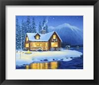 Framed Starlight Cabin