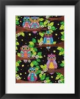 Framed Night Owls 11