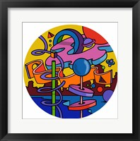 Framed Mambo Circle