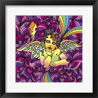 Framed Pop Art - Cherub 1