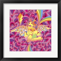 Framed Pop Art - Cherub 2