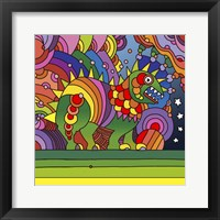 Framed Pop Art - Phinn Monster