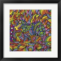 Framed Pop Art - Shane Monster