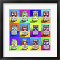 Framed Pop Art - Soup