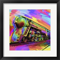 Framed Pop Art - Train