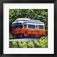 Framed Orange Trolley