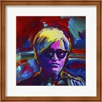 Framed Andy Warhol
