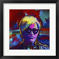 Framed Andy Warhol