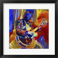 Framed Bb King