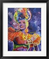 Framed Carmen Miranda 2