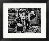 Framed Charlie Chaplin