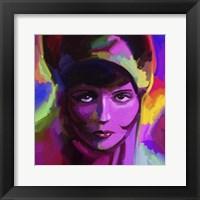 Framed Clara Bow