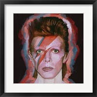 Framed David Bowie Alladin - Sane