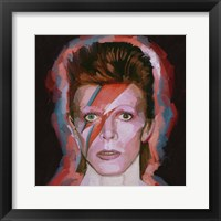 Framed David Bowie Alladin - Sane