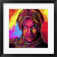 Framed David Bowie