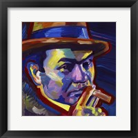 Framed Edward G Robinson