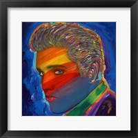 Framed Elvis Rainbow