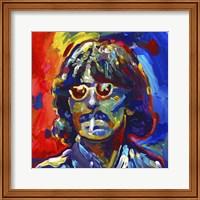 Framed George Harrison Glasses