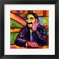 Framed Groucho Marx