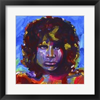 Framed Jim Morrison