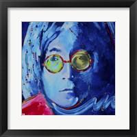 Framed John Lennon 2