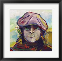 Framed John Lennon Hat