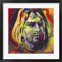 Framed Kurt Cobain