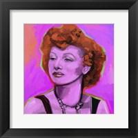 Framed Lucy