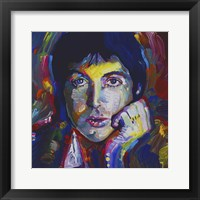 Framed Paul Mccartney