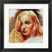 Framed Veronica Lake