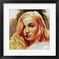 Framed Veronica Lake