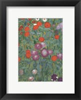Framed Flower Garden
