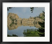 Framed Sylvan Lake 1, SD
