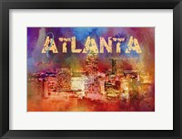 Framed Sending Love To Atlanta