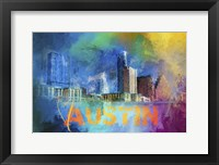Framed Sending Love To Austin