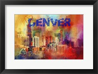 Framed Sending Love To Denver