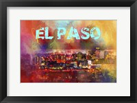 Framed Sending Love To El Paso