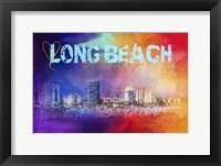 Framed Sending Love To Long Beach